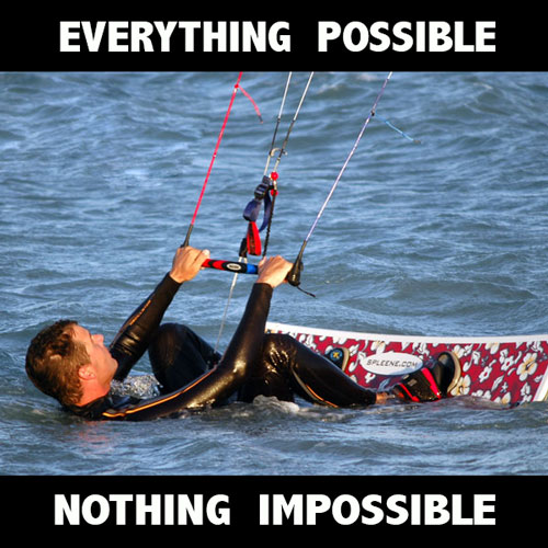 Everything Possible Nothing Impossible