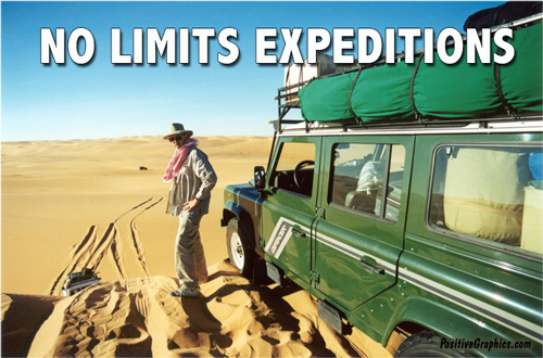 No Limits Expeditions - Maximum Strength Positive Thinking